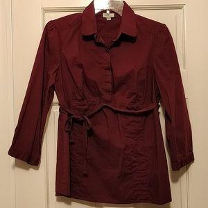 Mimi Maternity Button-Down Shirt